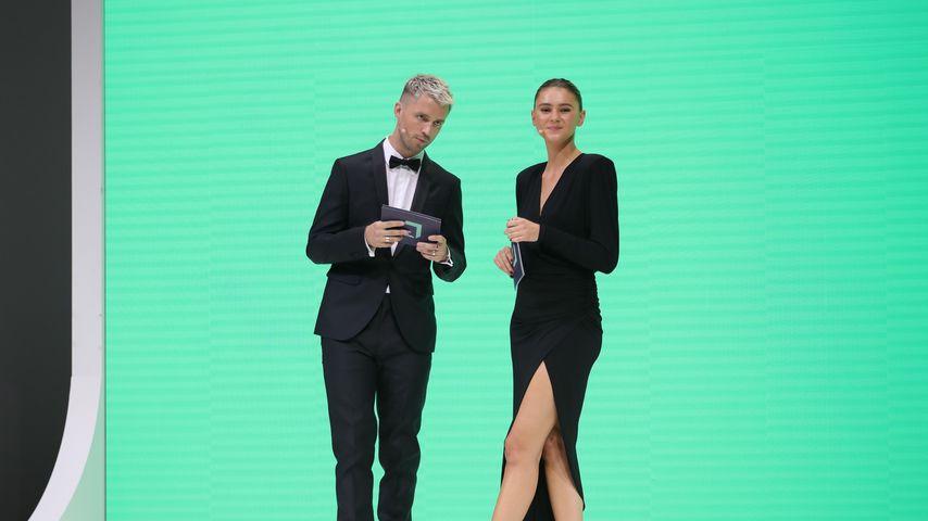 Marcus Butler und Stefanie Giesinger im September 2020 in Berlin