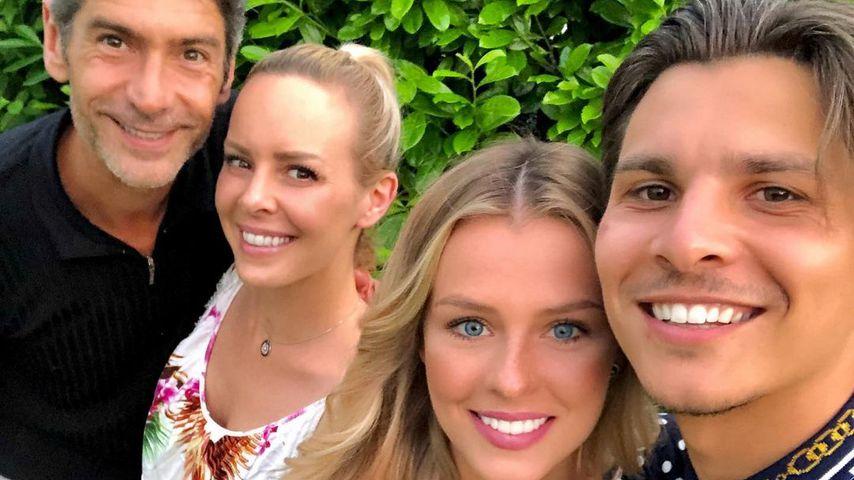 Profitänzer Marcus Weiß, Isabel Edvardsson, Patricija Belousova und Alexandru Ionel