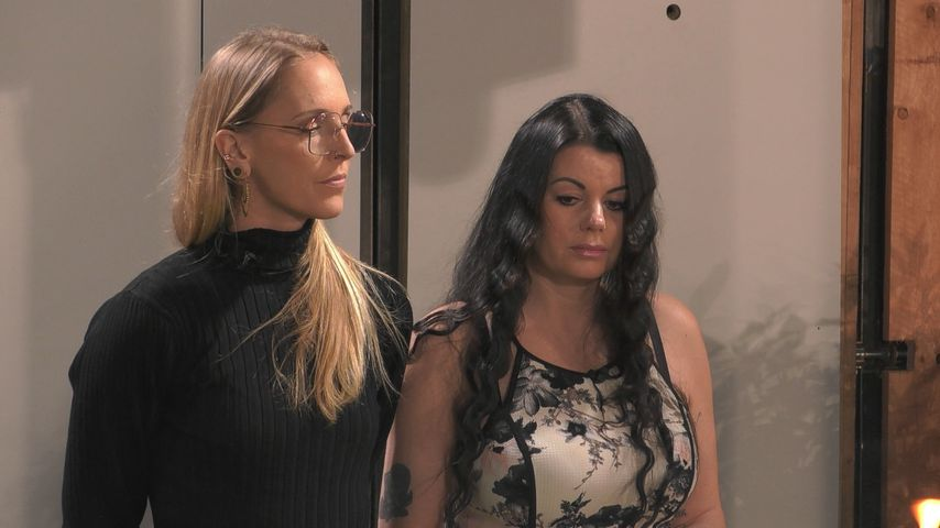 "Mareike und Cathleen bei ""Big Brother"""