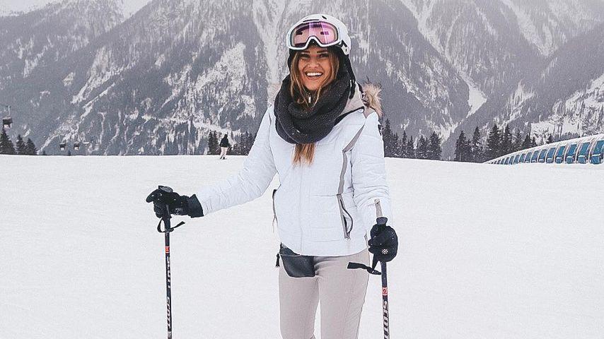 Maren Wolf im Ski-Urlaub