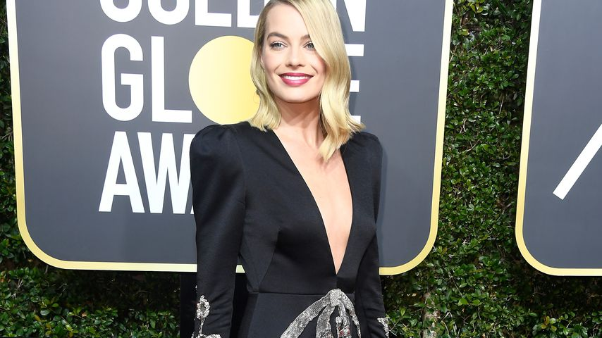 Margot Robbie bei den Golden Globes 2018