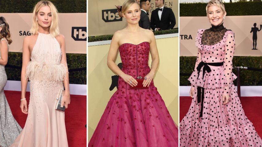 Schöne SAG Awards-Ladys: Nichts mehr mit schwarzen Kleidern!