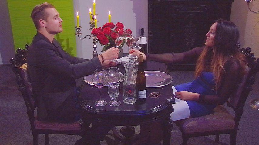 "1. Kuss? ""Big Brother"": Romantik-Dinner für Maria & Chris"