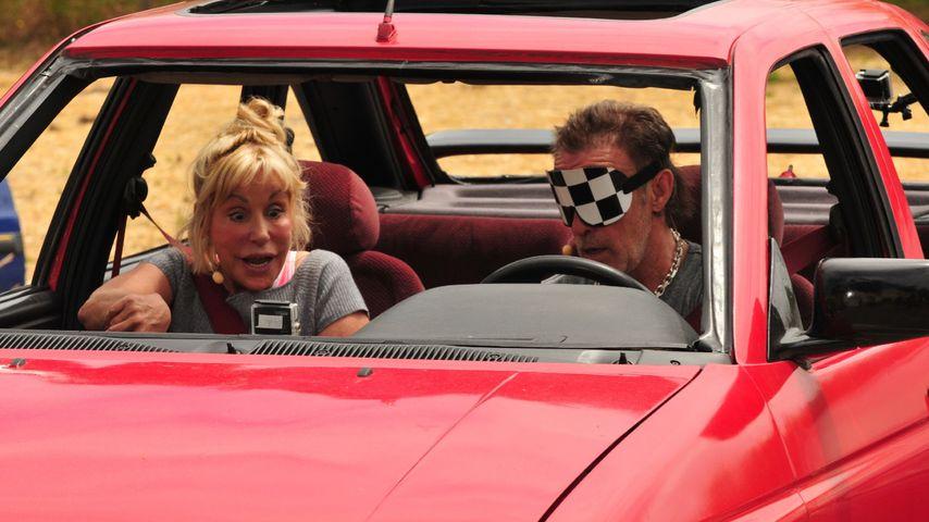 """Maria und René Weller bei """"Das Sommerhaus der Stars"""""""