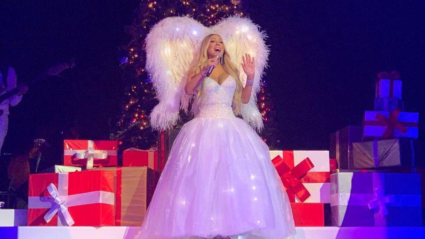 Mariah Carey bei einem Weihnachtskonzert in Berlin 2018