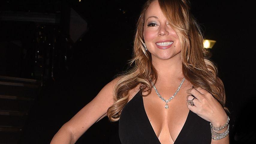 Mariah Carey auf dem Weg zu Leonardo DiCaprios Foundation-Gala zugunsten des Klimaschutzes