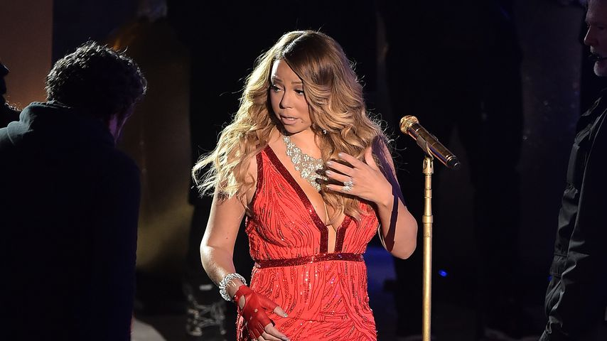 Mariah Carey am Rockefeller Center, Dezember 2014