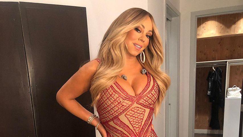Auffällig schmal: Hatte Mariah Carey etwa eine Beauty-OP?