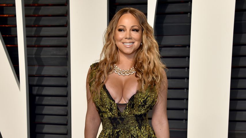 Knautsch-Boobs! Mariah Carey mit Dellen-Dekolleté bei Oscars