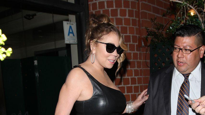 Mariah Carey bei einem Restaurantbesuch in Beverly Hills
