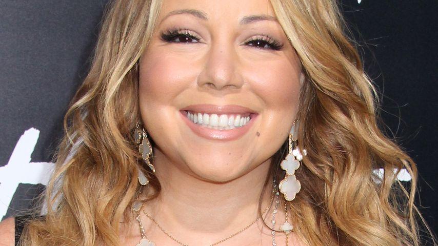 Grinsekätzchen: Mariah Carey überstrahlt sie alle!