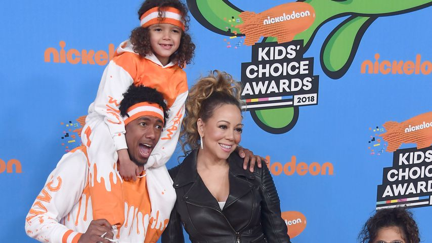 Family-Reunion: Mariah Carey mit Ex bei Kids' Choice Awards