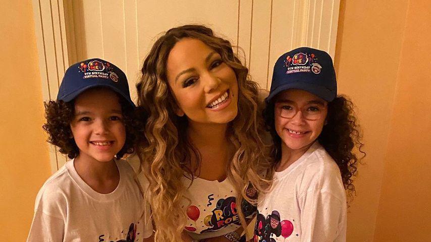 Mariah Carey ist wehmütig: Ihre Zwillinge sind schon neun