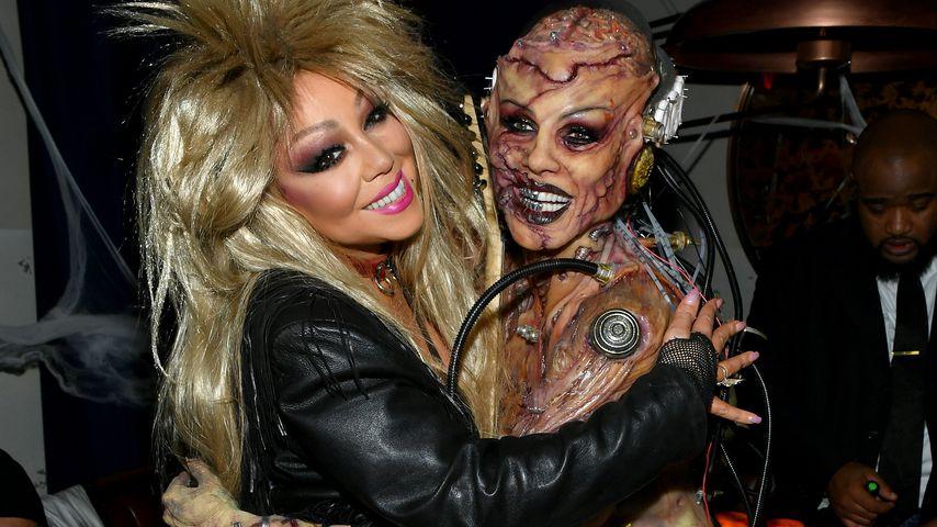 Mariah Carey und Heidi Klum auf ihrer Halloween-Party in New York