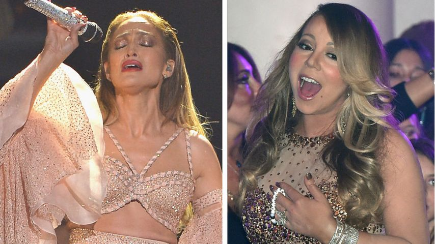 J.Lo vs. Mariah Carey: Divas mit Faible für Fleischfarben