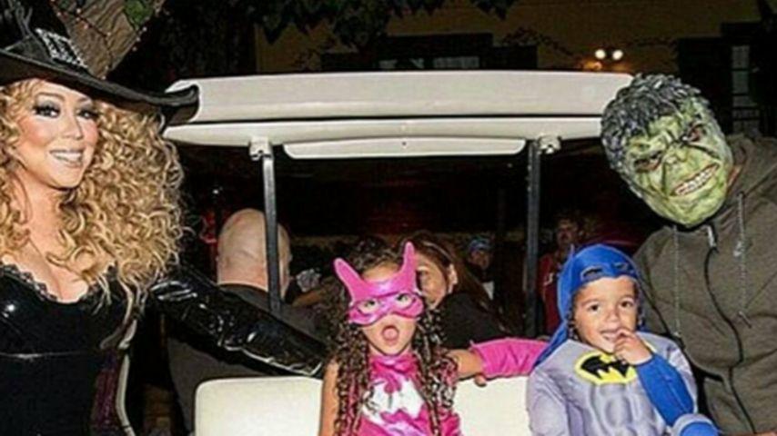 Halloween-Reunion: Mariah Carey feiert mit Ex Nick Cannon