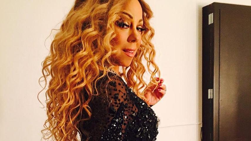 Mariah Carey zeigt ihre Rundungen