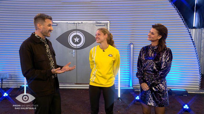 Jochen Schropp, Marie Lang und Marlene Lufen