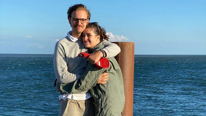 Marie Nasemann mit ihrem Ehemann Sebastian