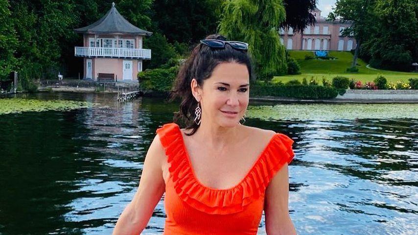 Mariella Ahrens am Wannsee im Juni 2020