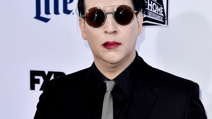 Schräger Sex-Tick! Marilyn Manson hat Nackt-Phobie