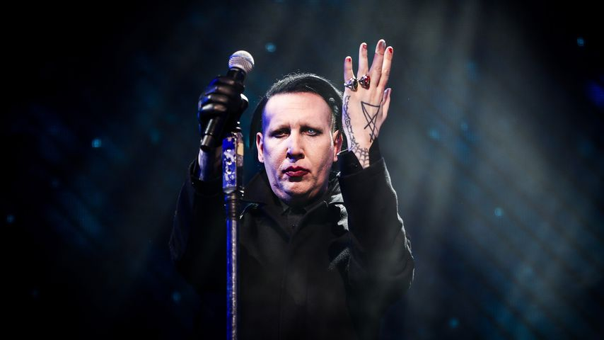 Marilyn Manson beim Coachella Valley Music And Arts Festival im April 2018