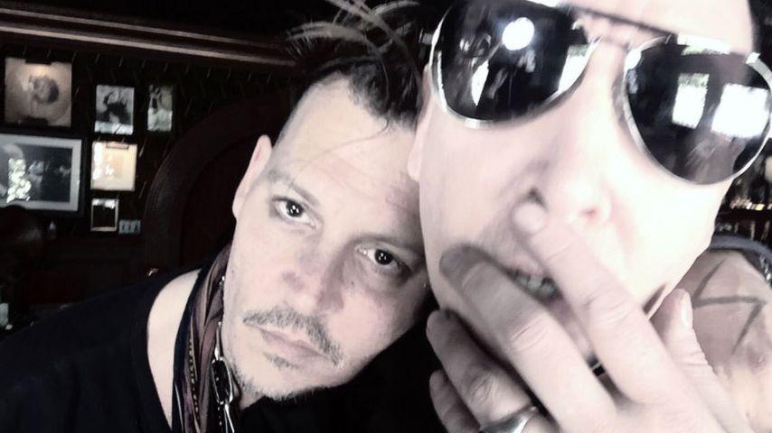 Nach Johnny Depps Rosenkrieg: Marilyn Manson ergreift Partei