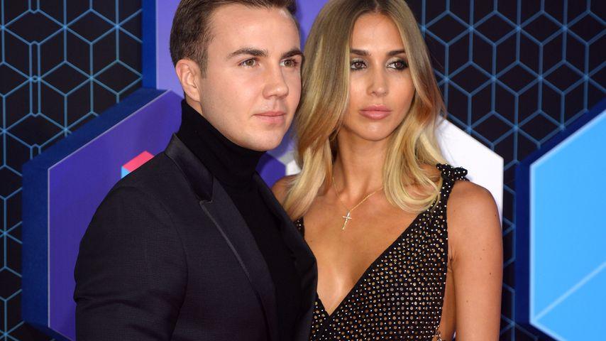 Mario Götze und Ann-Kathrin Brömmel bei den MTV EMAs 2016