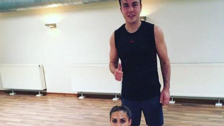 Heißes Sport-Paar: Mario Götze & Ann-Kathrin beim Training
