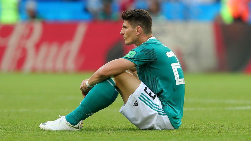 Mario Gomez nach dem WM-Spiel gegen Südkorea 2018