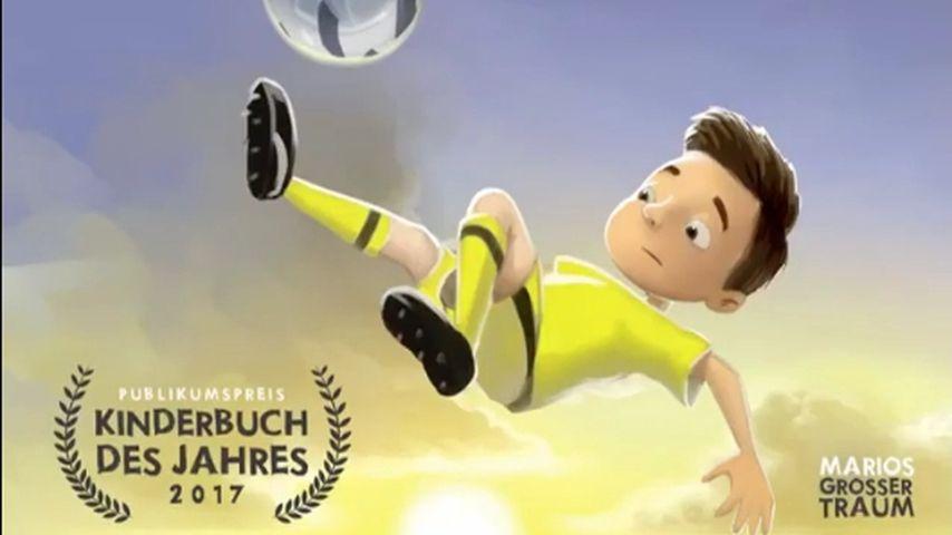 """""""Marios großer Traum""""-Cover mit Publikumspreis-Label"""