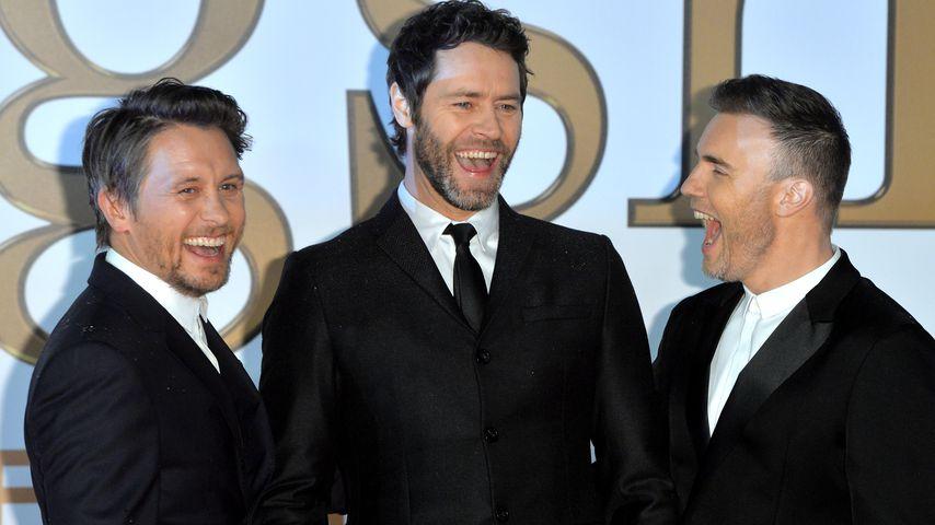 Mark Owen, Howard Donald und Gary Barlow von Take That