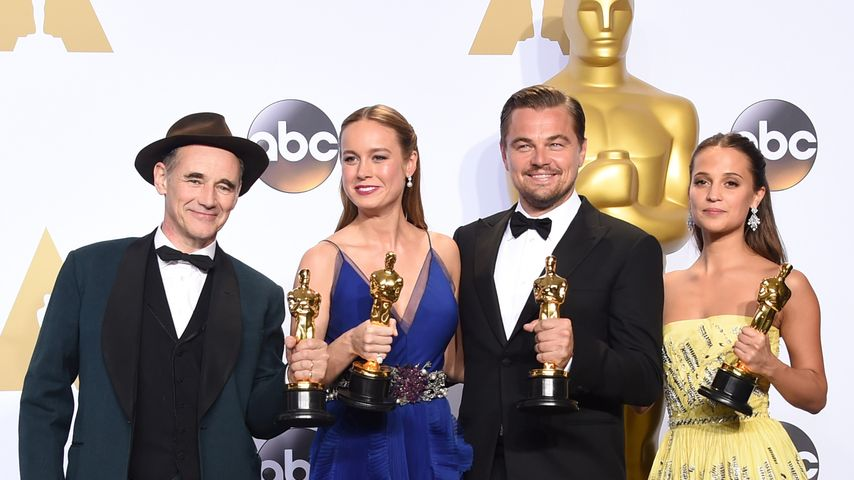 Strahlendes Oscar-Posing: So sehen Sieger aus!