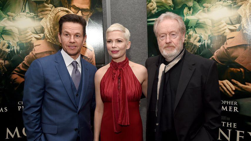 """Mark Wahlberg, Michelle Williams und Ridley Scott auf der """"Alles Geld der Welt""""-Premiere"""