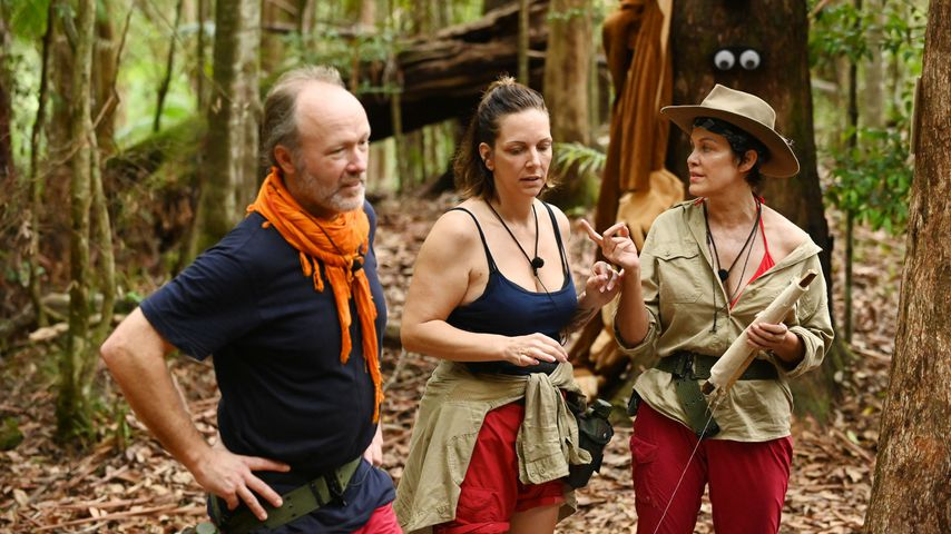 Markus Reinecke, Danni Büchner und Sonja Kirchberger an Tag 11 im Dschungelcamp