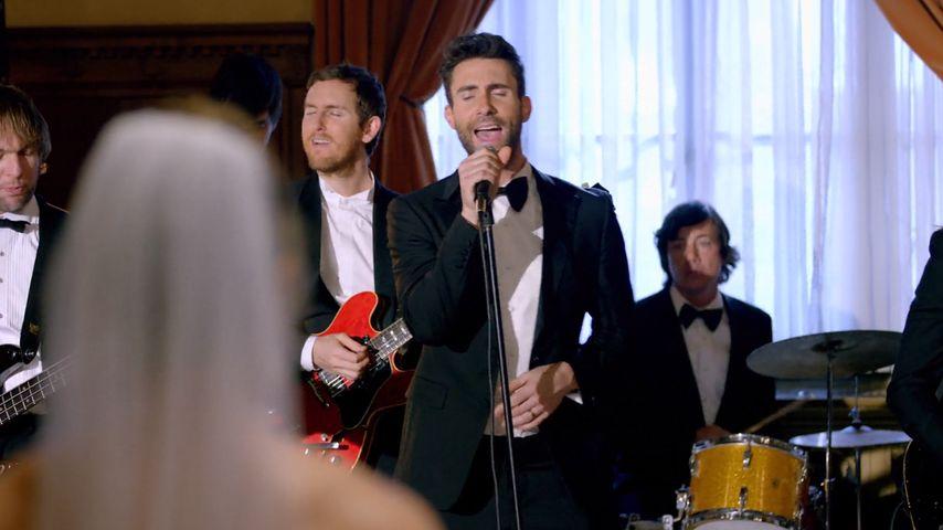 Überraschung! Maroon 5 rocken als Wedding-Crasher