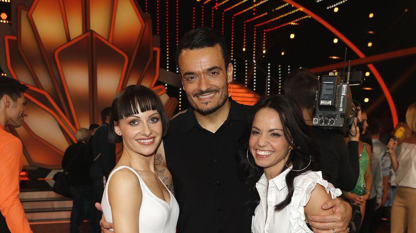 Marta Arndt, Giovanni Zarrella und Christina Luft