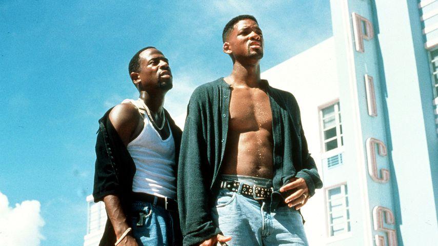 "Martin Lawrence und Will Smith im Film ""Bad Boys"""