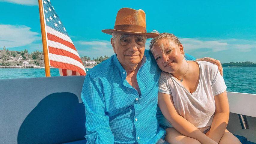 Martin Scorsese mit Tochter Francesca