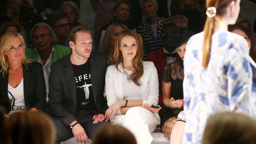 """So verliebt: Anna Hofbauer mit ihrem """"König"""" Marvin Albrecht"""