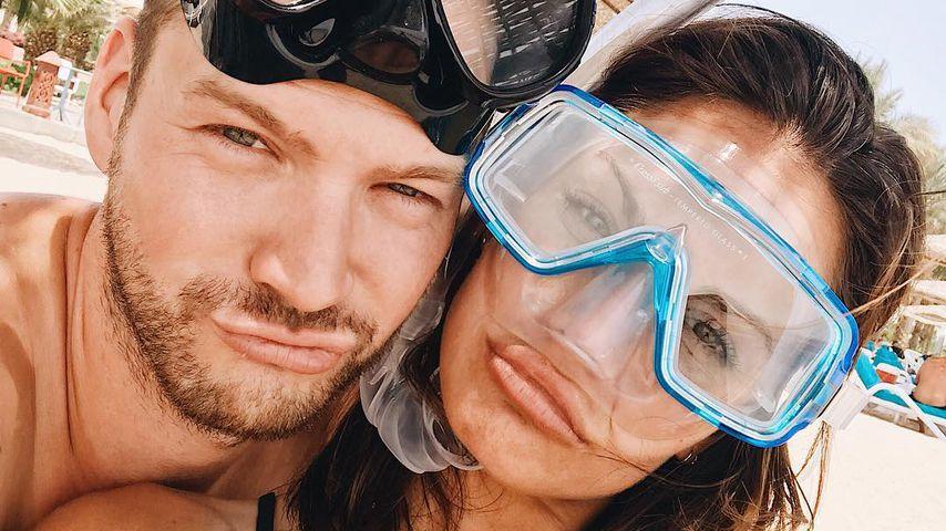 Marvin Albrecht und Simone Voss im gemeinsamen Ägypten-Urlaub