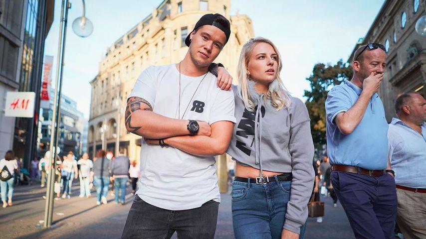Marvin Schulz und Julia Gerhard im September 2019