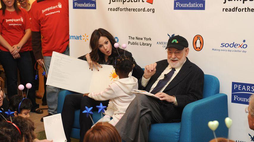 Mary-Louise Parker und Eric Carle bei einem Event in New York, 2008