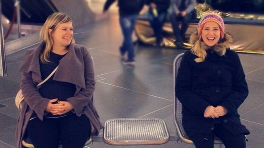 Soap-Mamis Ania & Marylu genießen ihr doppeltes Baby-Glück