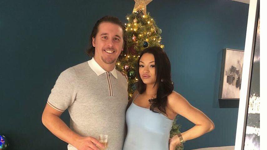 Mason Gascoigne und seine Partnerin Jaimee Wyatt