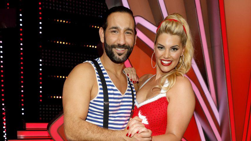 Massimo Sinató und Angelina Kirsch