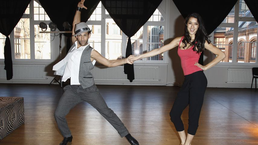 """Massimo Sinató und Rebecca Mir bei """"Let's Dance"""" 2012"""