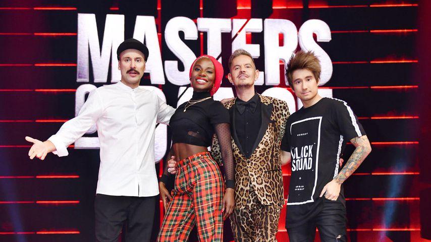 """Masters of Dance""-Jury Vartan Bassil, Nikeata Thompson, Dirk Heidemann und Julien Bam"