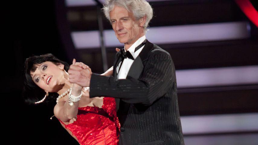 """Mathieu Carrière und Tatjana Kuschill bei """"Let's Dance"""" 2010"""
