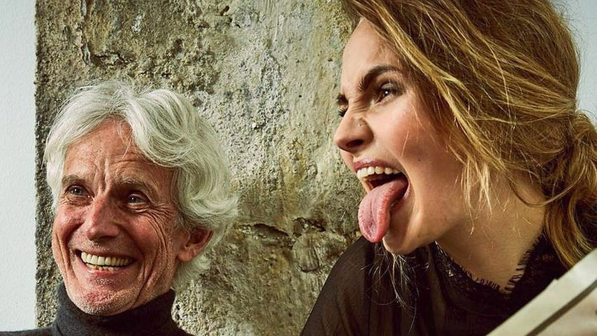 So rührend gratuliert Elena Carrière ihrem Papa zum 70.